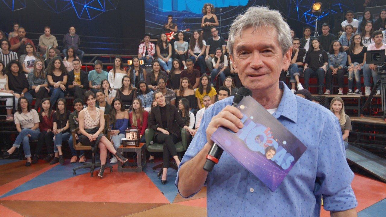 Serginho Groisman na TV Globo