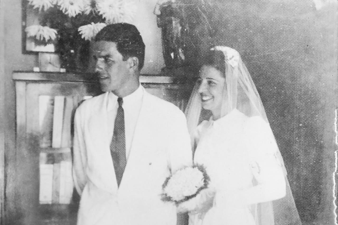 Secretária no Ministério da Agricultura, a jovem Hilda Cabral se apaixonou à primeira vista pelo engenheiro Bernardo Sayão