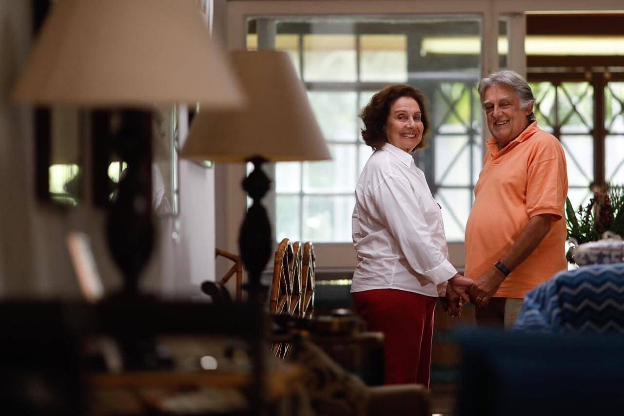Lia Sayão conheceu o marido, Mario Sergio Boaventura de Sá, no Mercado Diamantina, na Cidade Livre