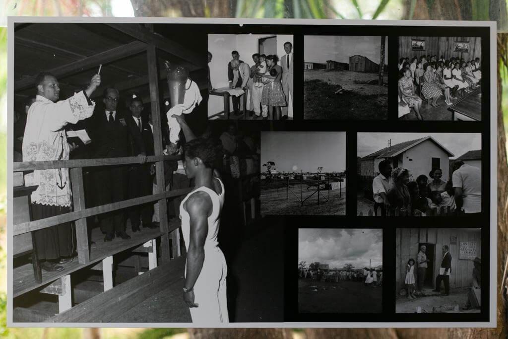 A pesquisa identificou, selecionou e reuniu todo o material em um arquivo próprio fotografias de negros na história de Brasília