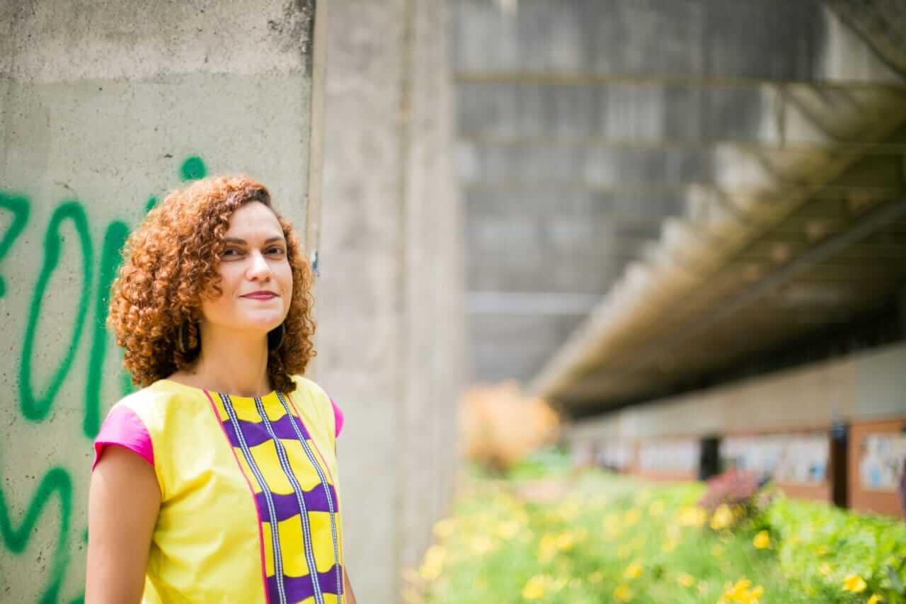 """Há quatro anos, Cristiane já havia revelado a cor candanga na exposição Trabalho e presença negra na construção de Brasília"""""""