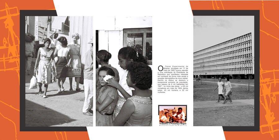 Cristiane percorreu os acervos do arquivo público e localizou aproximadamente 700 carteiras de trabalho de operários da construção de Brasília
