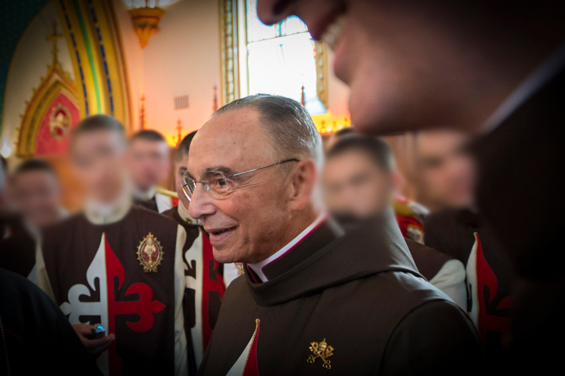 João Scognamiglio Clá Dias é o fundador dos Arautos do Evangelho