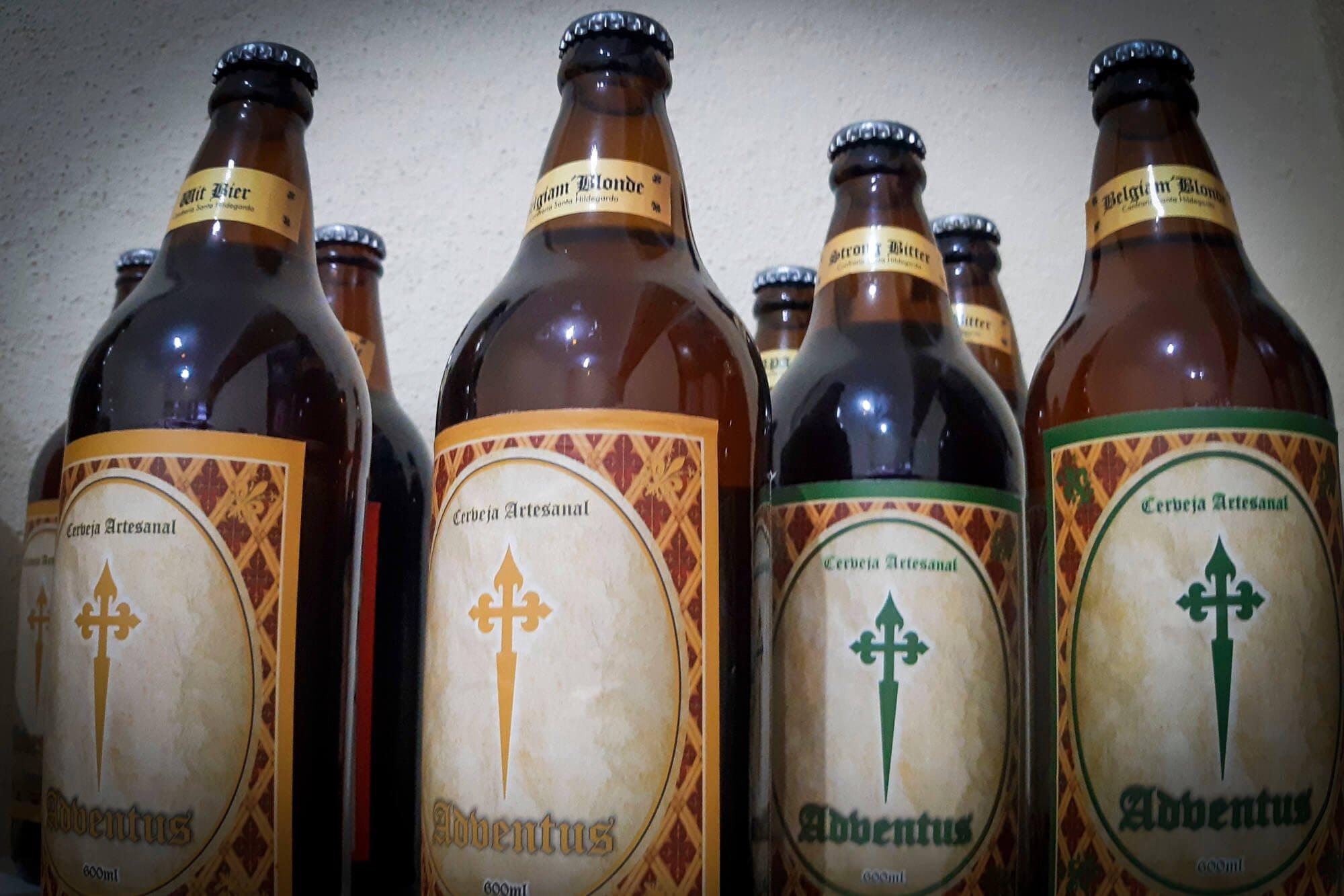 Na lojinha da Basílica de Nossa Senhora do Rosário é possível encontrar até cerveja