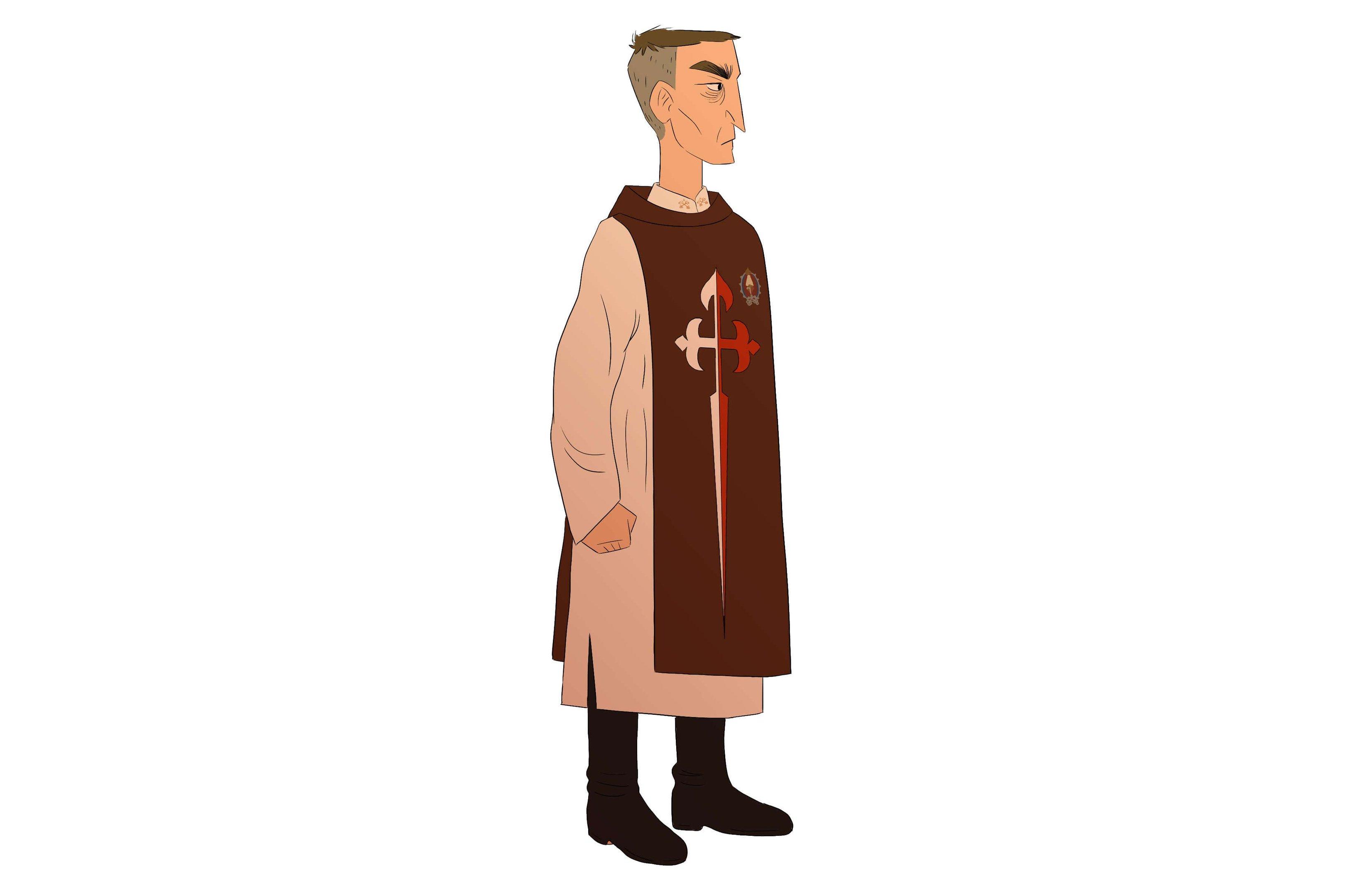 As roupas dos arautos são inspiradas na era medieval. Os leigos usam túnica branco-marfim e um escapulário sobre os ombros, que representa o manto de Maria