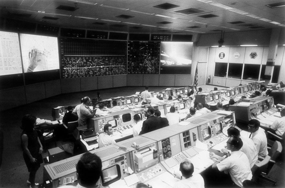 Equipe Terra da missão Apollo 11