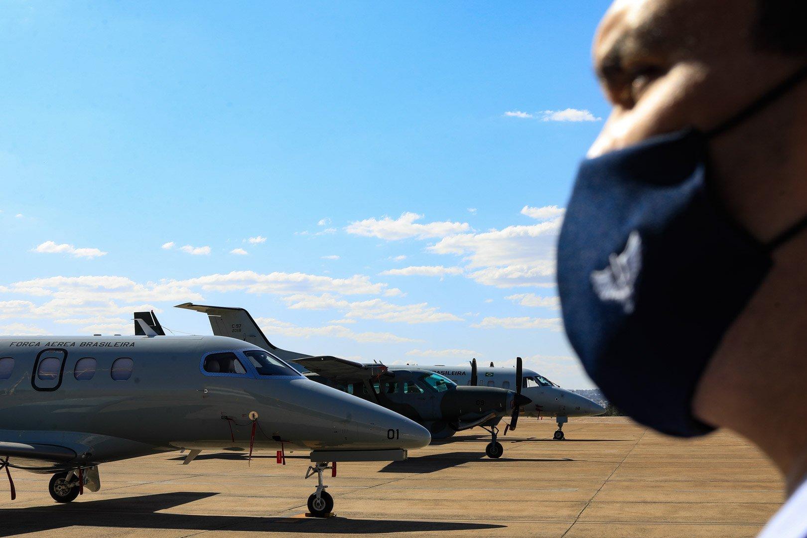 O 6º Esquadrão de Transporte Aéreo deixa quatro aeronaves disponíveis para responder aos chamados da Central Nacional de Transplantes