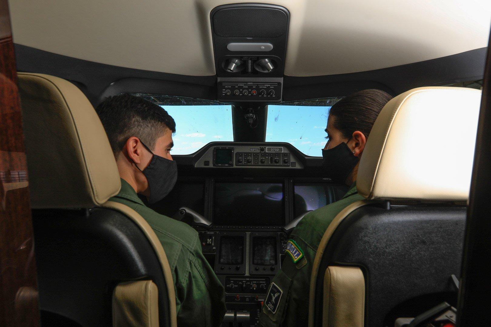 Em 2020, a FAB realizou 111 missões e transportou 147 órgãos
