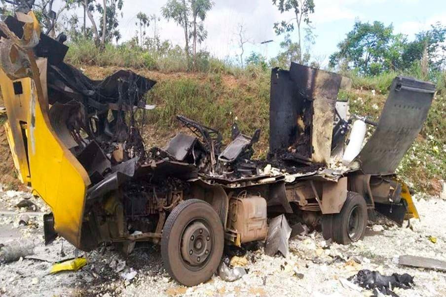 Devido ao uso excessivo de dinamites em um roubo na BR-040, os ladrões acabaram destruindo todo o dinheiro guardado no cofre