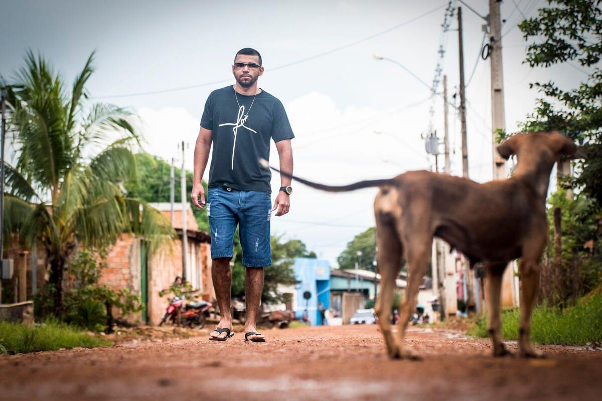 Pablo, Jairo e mais dois companheiros de trabalho foram atacados por oito bandidos fortemente armados em uma estrada de Rondônia