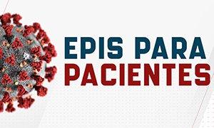 Em quais situações os pacientes devem ou não usar EPI