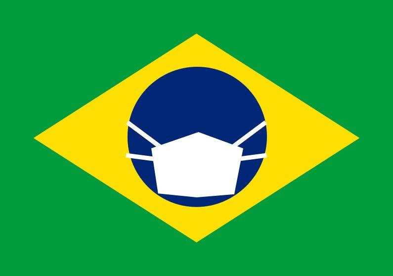 Imagem - Brasil coronavirus