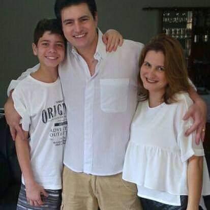 O neto, Gabriel, o filho, Régis, e a filha, Rejane, sempre frequentavam o apartamento do casal, na 316 Norte