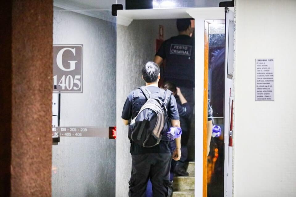 As irmãs de Marcelo, ao verem o síndico armado, chamaram a polícia e o Samu minutos antes da tragédia