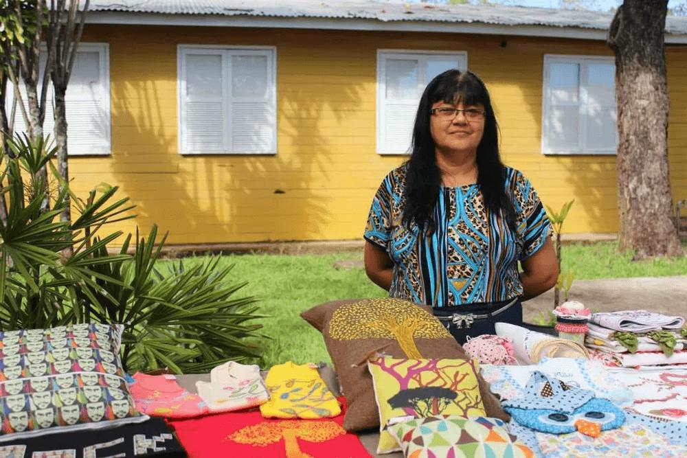 Francisca era artesã e expunha suas peças de crochê em feiras ao redor da cidade