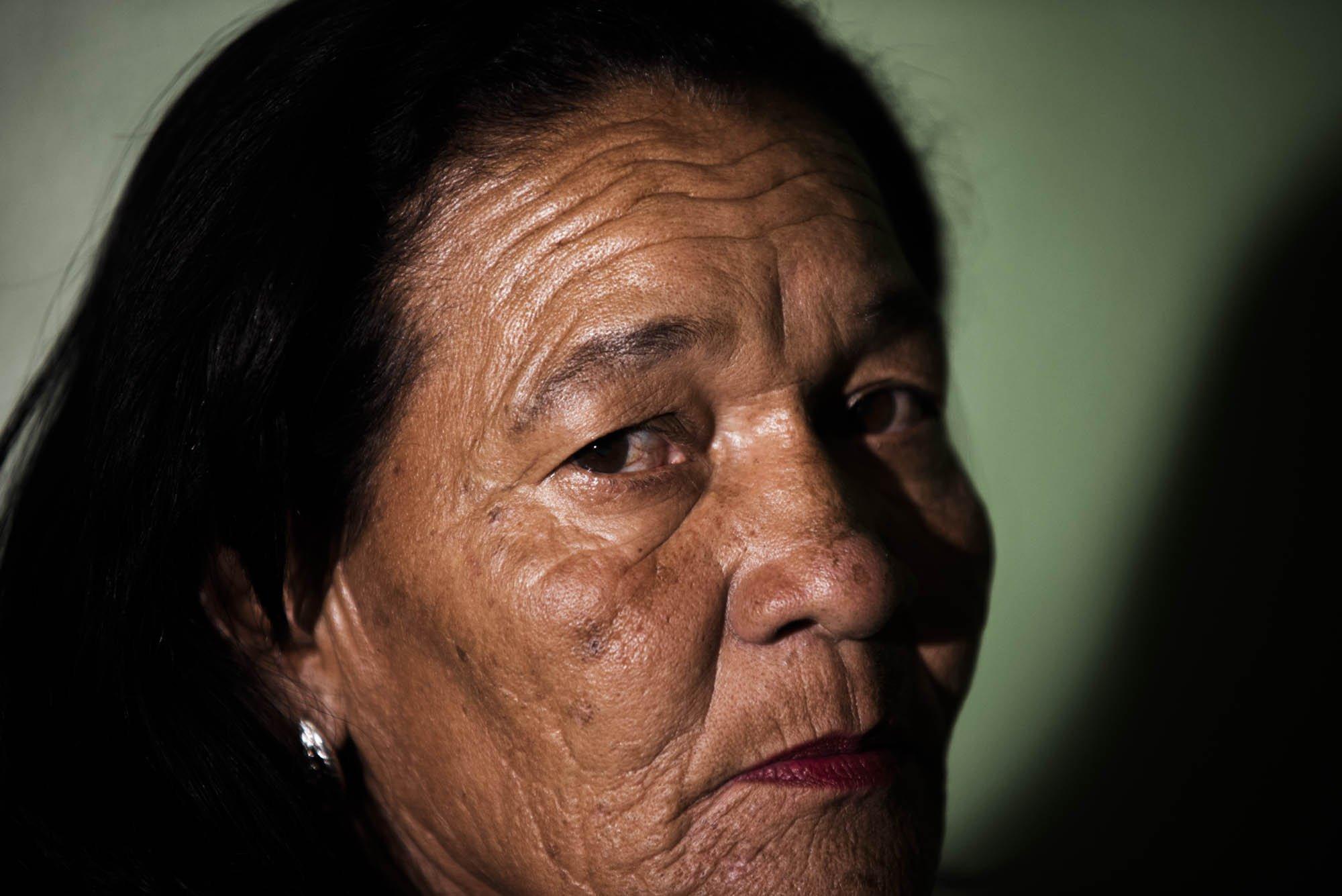 A mãe de Jacqueline, Lenita dos Santos, tinha reservas em relação ao genro desde o início do namoro
