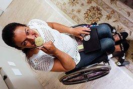 Após levar 2 tiros do ex, Ana Paula virou campeã mundial paralímpica