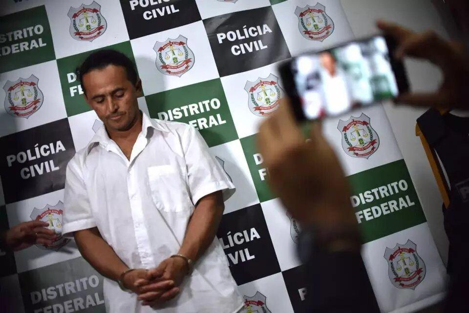 Segundo a polícia, Marinésio esganou Letícia até a morte e desovou o corpo em uma manilha