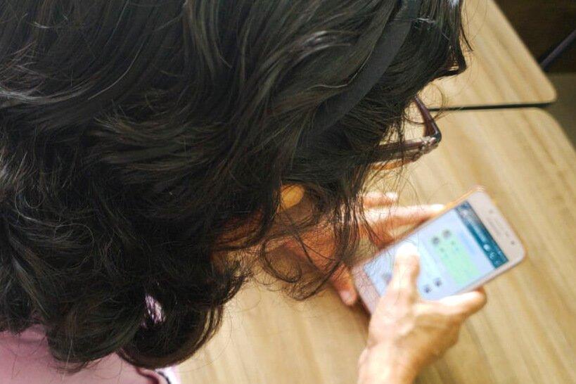 Luana e a mãe conversavam por áudios do WhatsApp com frequência