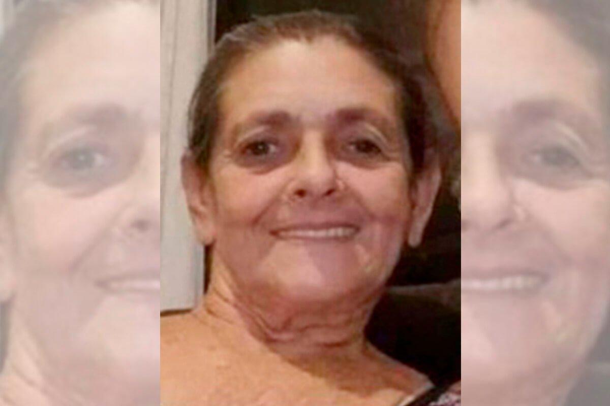 Maria Almeida estava de passagem por Brasília para visitar a família do marido