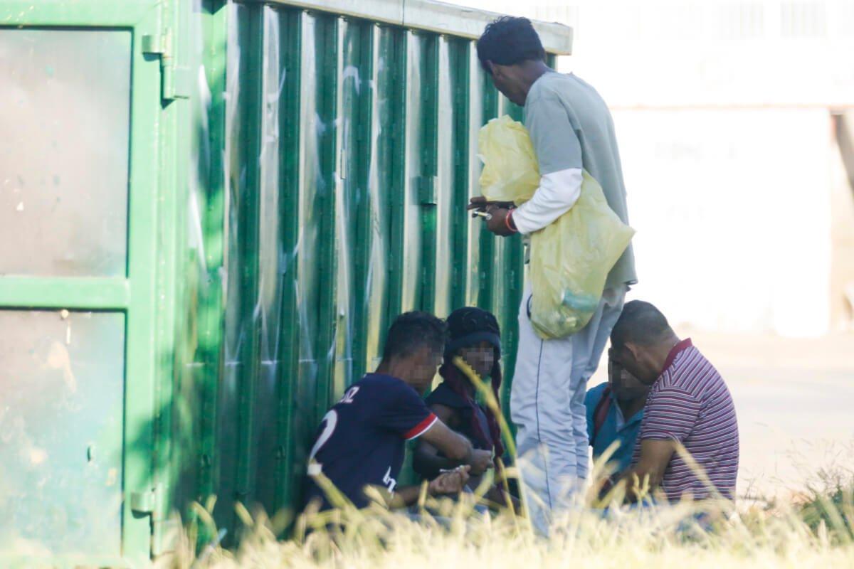 A região é conhecida pelos ceilandeses por abrigar muitos usuários de crack