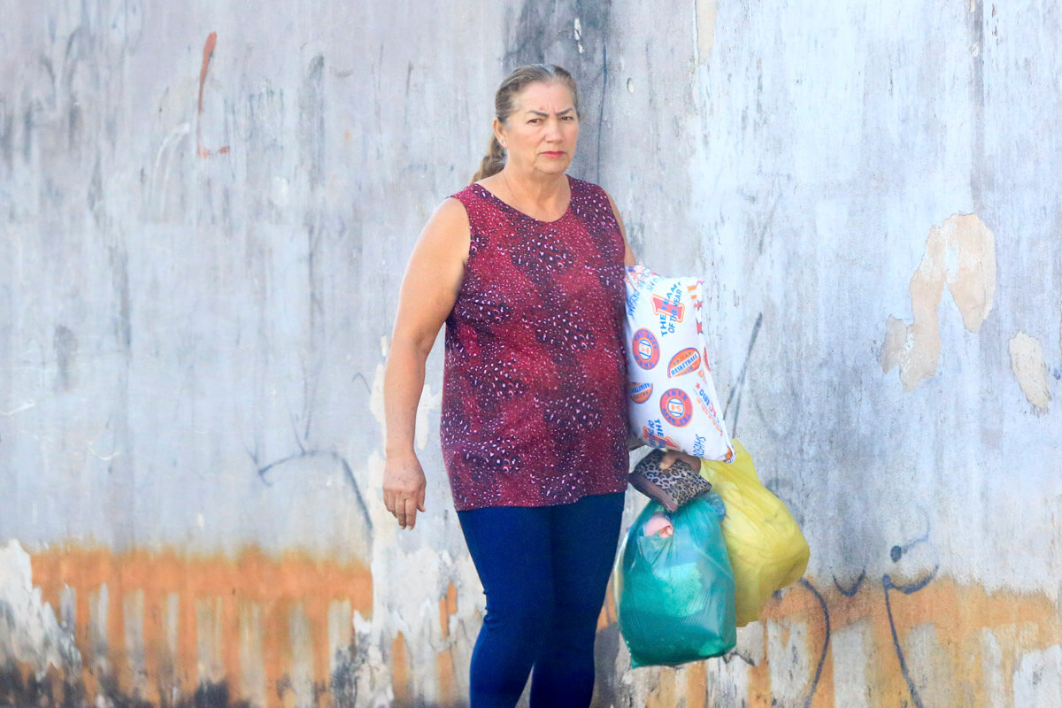 Michelle não mantém contato frequente com a mãe, Maria das Graças