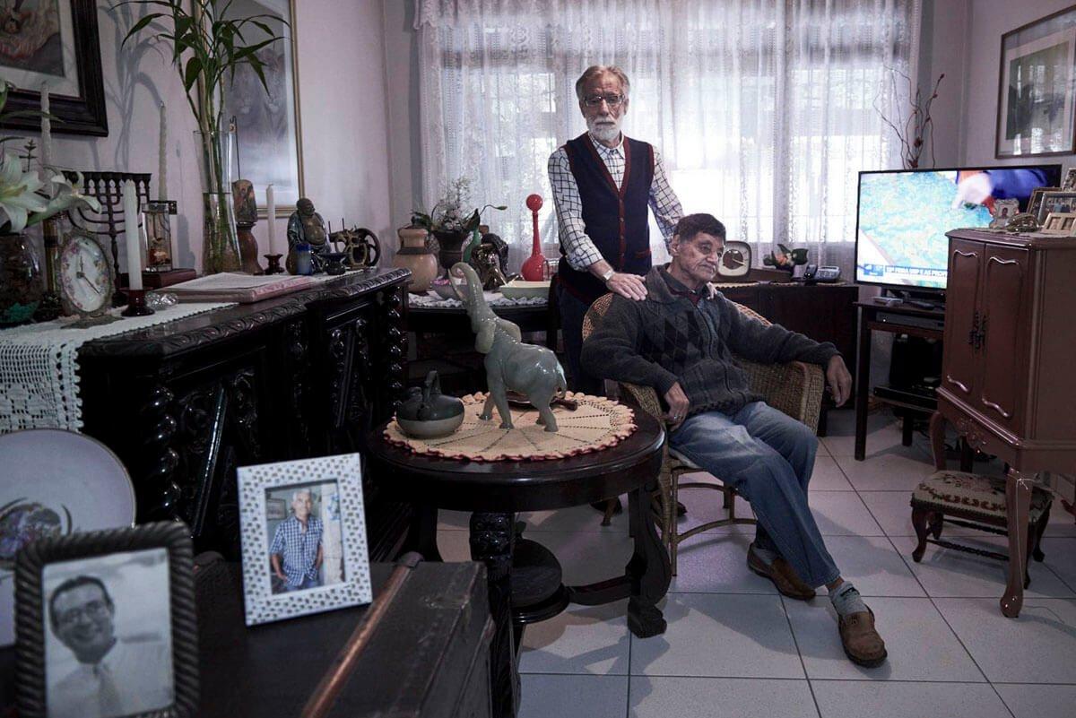 Desde os 10 anos, Flávio Trotta cuida do irmão, José Carlos, que é deficiente intelectual