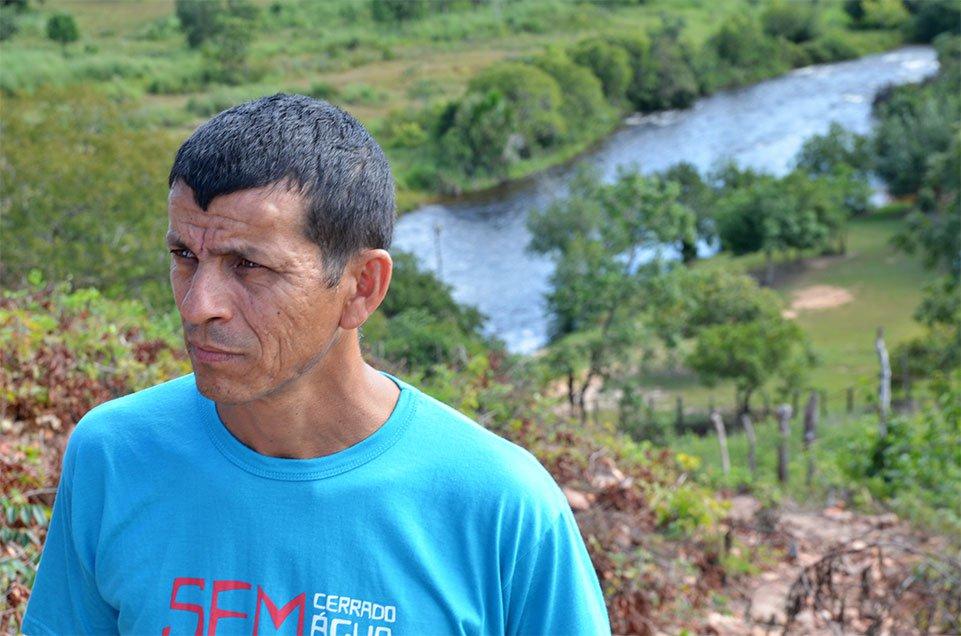 Professor Iremar Araújo: investigado por participar da manifestação em novembro do ano passado. Foto: Gilberto Alves/Especial para o Metrópoles
