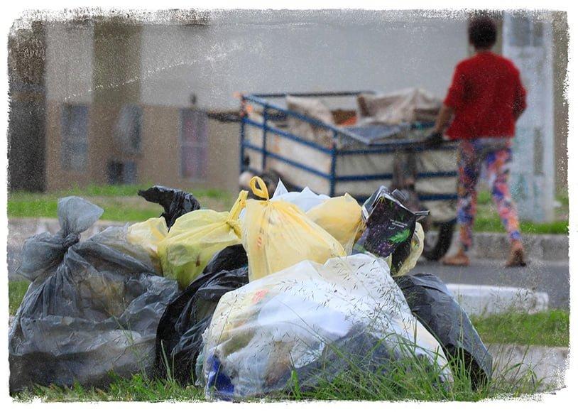 Foto Coleta de lixo