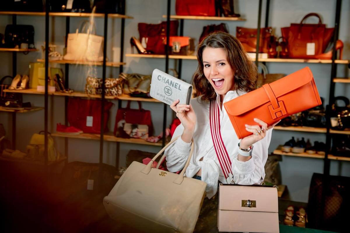 Gabriella Constantino fundou o e-commerce de seminovos de luxo Prettynew em 2014.