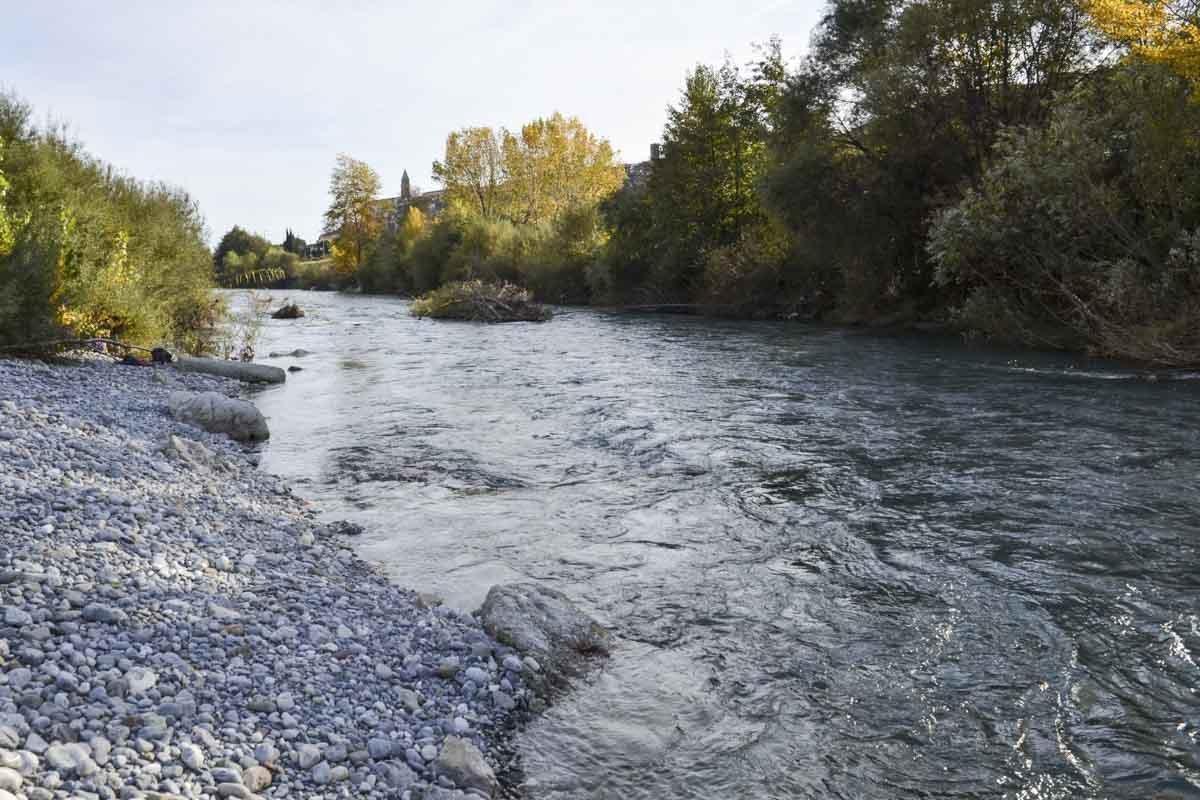 O Rio Roya é o ponto de partida para escalar os Alpes Marítimos e tentar entrar na França pelas trilhas do Caminho da Morte