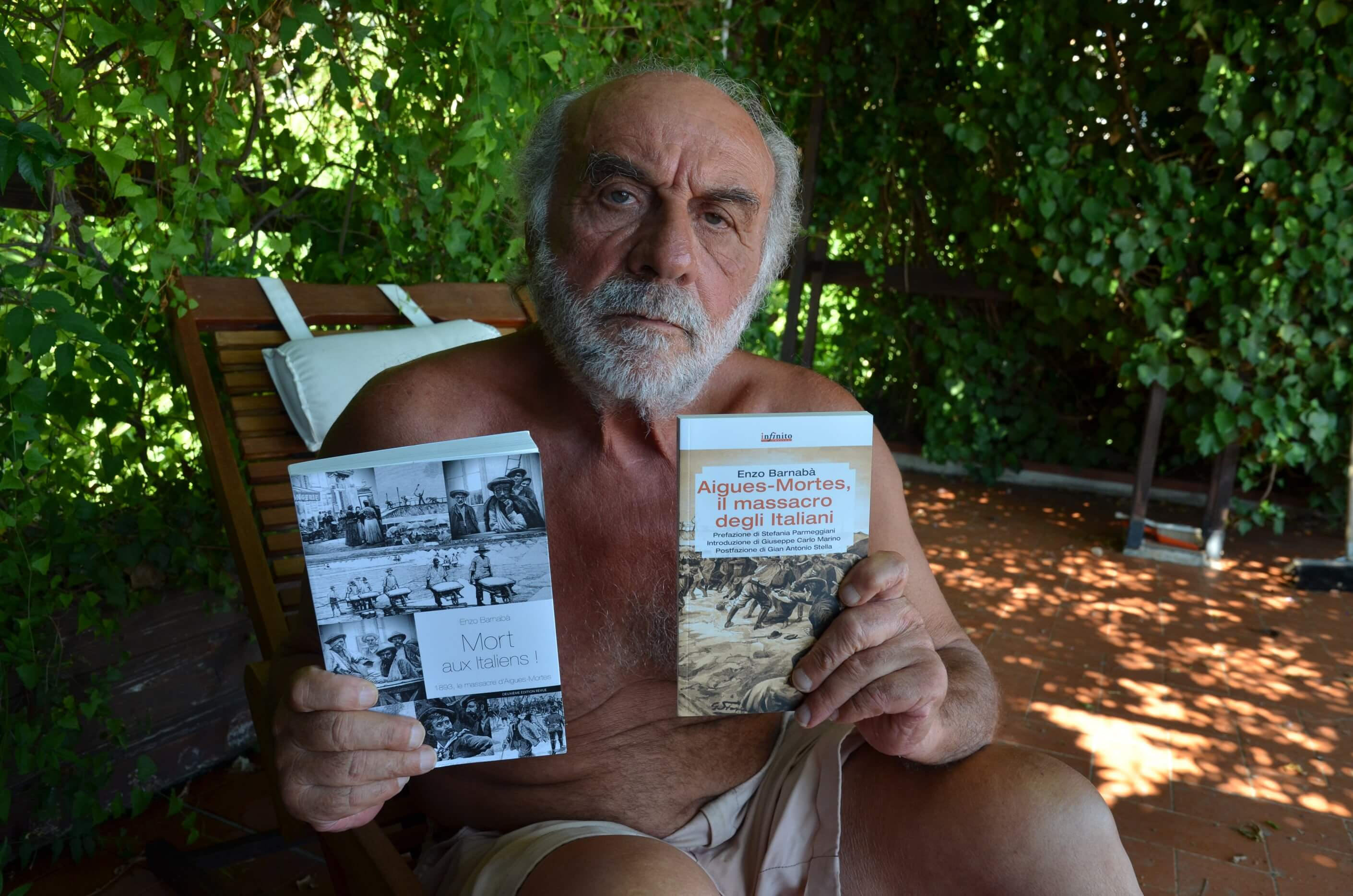 O historiador Enzo Barnabà é especialista em migração e escreveu diversos livros sobre o assunto