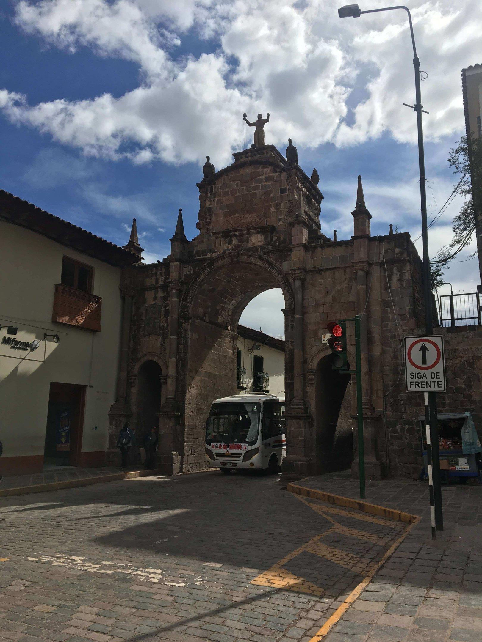 O Arco de Santa Clara é um dos pontos turísticos