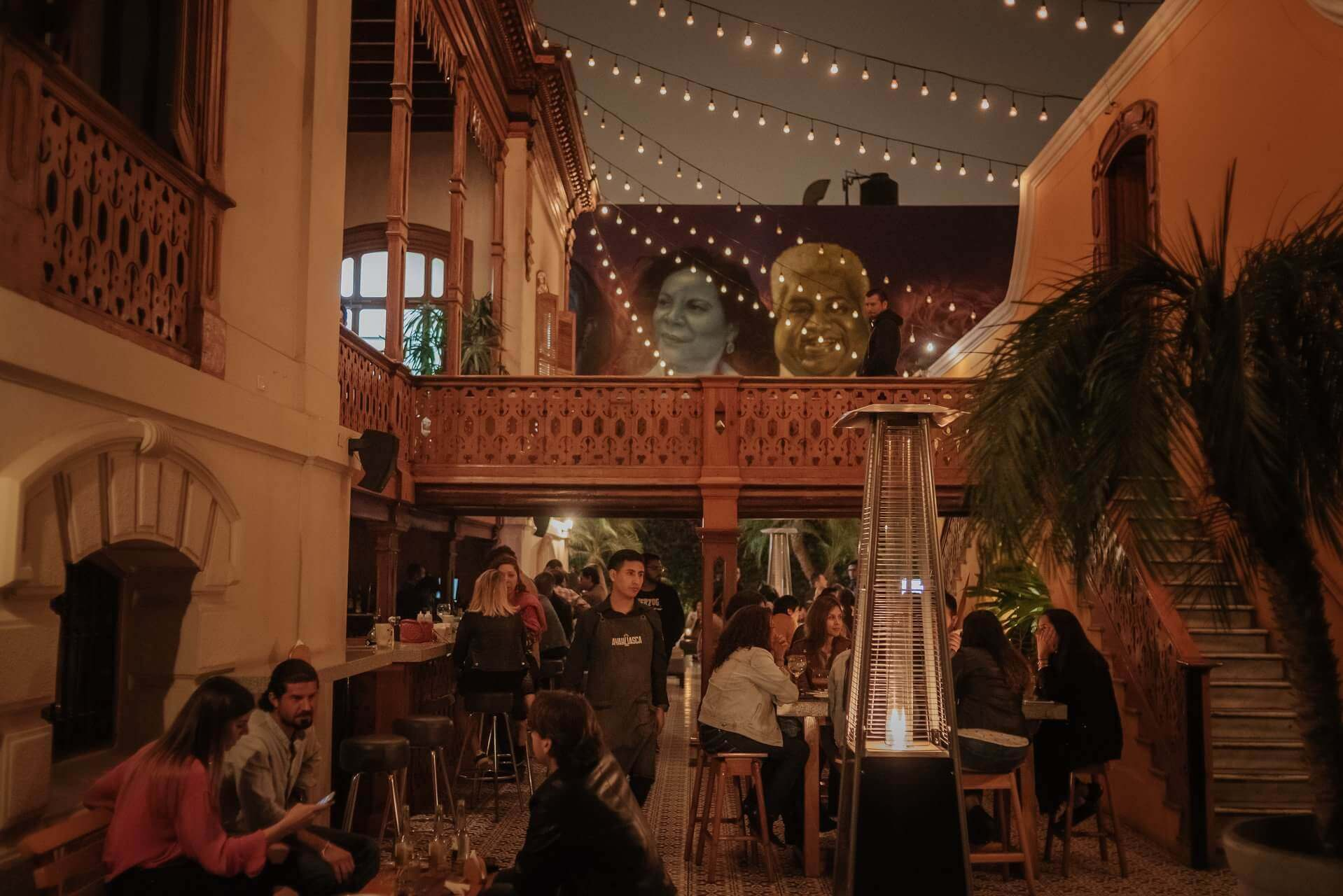 O bar Ayahuasca fica perto do agitado centro de Barranco